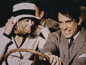 Warren Beatty, Faye Dunaway, Bonnie & Clyde, 1967
