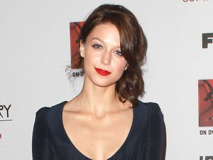 Melissa Benoist attends the Premiere Screening of FX's 'American Horror Story: Asylum' at the Paramount Theatre