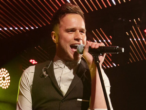 Olly Murs performs at Heart's Love Music Live at Chelsea Football Club.