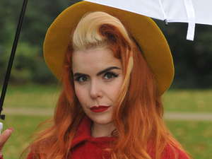 Paloma Faith takes part in the Singing In The Rain campaign to combat youth unemployment 
