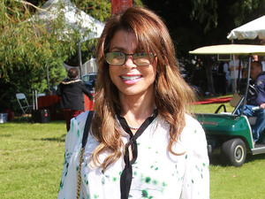 Paula Abdul attends the Celebrity Golf Tournament to benefit Los Angeles Police Memorial Foundation.