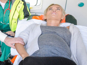 6370: Debbie is rushed to hospital as she starts to feel contractions