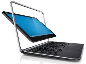 The Dell XPS  Duo 12 convertible laptop