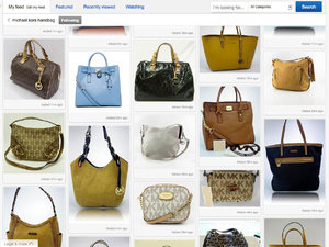 Screenshots of the new look eBay