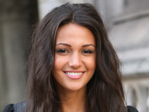 Michelle Keegan The Look fashion show in association with Smashbox cosmetics held at the Royal Courts of Justice - Outside Arrivals London, England - 06.10.12 Mandatory Credit: WENN.com