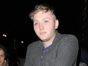 X Factor contestant James Arthur arriving back at his hotel.
