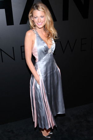 Blake Lively, at the celebration of Chanel Fine Jewelry's 80th anniversary of the 'Bijoux De Diamants' collection created by Gabrielle Chanel. New York City, USA