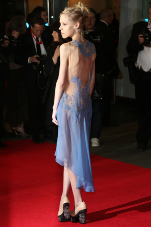 Antonia Campbell-Hughes 56th BFI London Film Festival- Frankenweenie premiere - Arrivals London