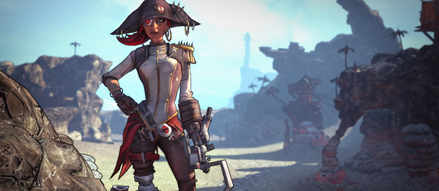 Images for the first Borderlands 2 expansion, Captain Scarlett and Her Pirate's Booty