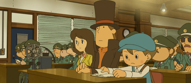 'Professor Layton and the Miracle Mask' screenshot