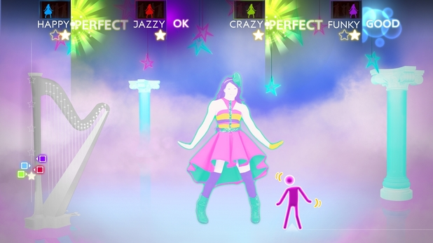'Just Dance 4' screenshot