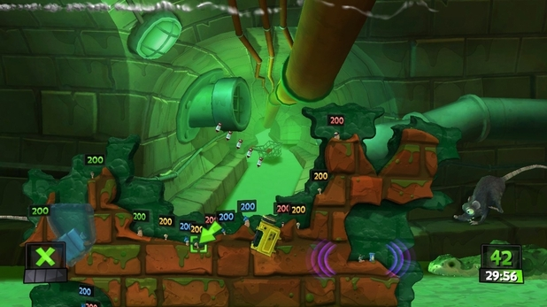 'Worms Revolution' screenshot