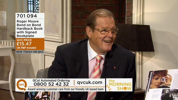 Roger Moore on QVC