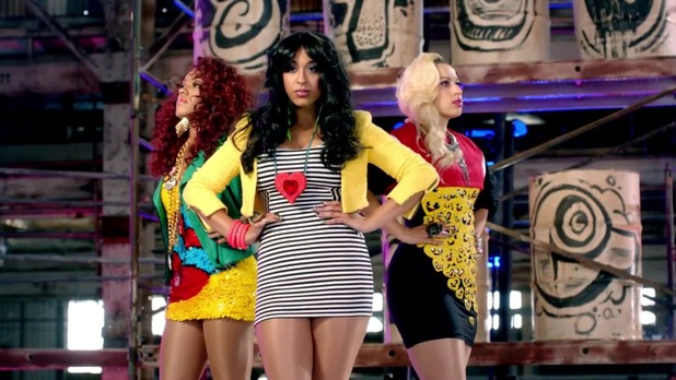 Stooshe 'Waterfalls' videoq