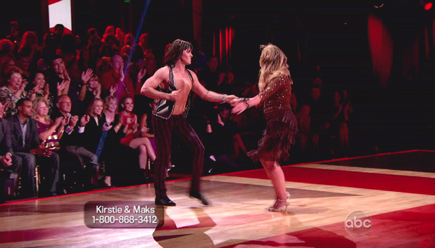 Dancing With The Stars S15E05: Maksim Chmerkovskiy and Kirstie Alley