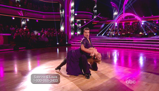 Dancing With The Stars S15E05: Sabrina Bryan and Louis van Amstel