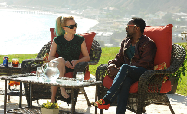 Britney Spears and will.i.am at The X Factor USA Judges' Houses