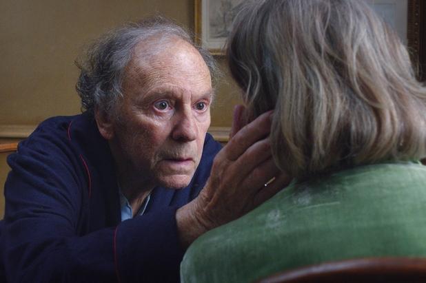 Jean-Louis Trintignant and Emmanuelle Riva n 'Amour'