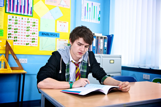 Kevin in Waterloo Road episode eight