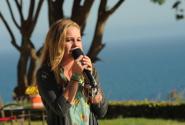The X Factor USA: Beatrice Miller at Judges' Houses