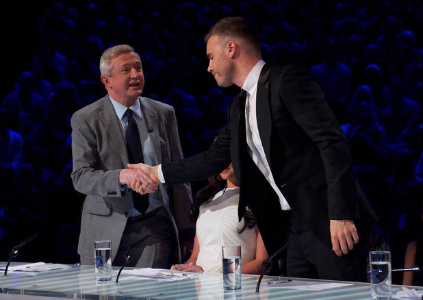 The X Factor Live Show 2: Gary and Louis make amends