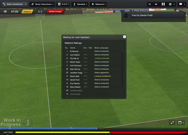 'Football Manager 2013' screenshot