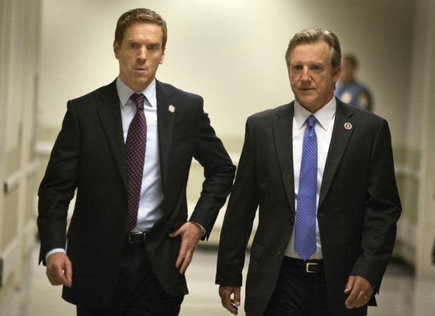 Damian Lewis and Jamey Sheridan
