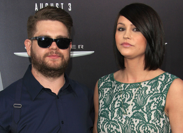 Jack Osbourne and Lisa Stelly Los Angeles premiere of 'Total Recall' at Grauman's Chinese Theatre Hollywood, California - 01.08.12 Mandatory Credit: Starbux/WENN.com