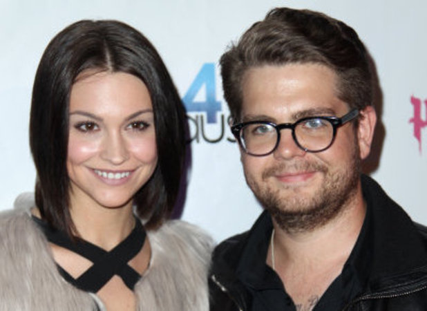 Jack Osbourne with wife Lisa Stelly