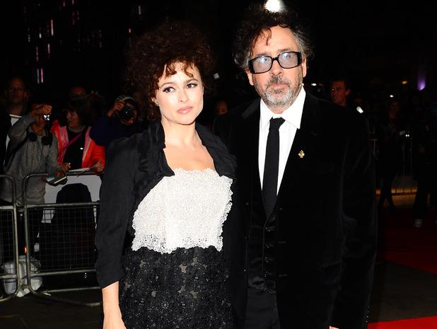 Frankenweenie Premiere: Helena Bonham Carter and Tim Burton