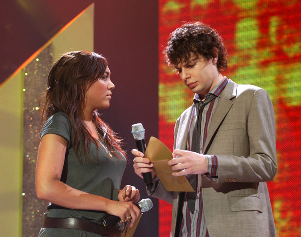 Miquita Oliver and Simon Amstell