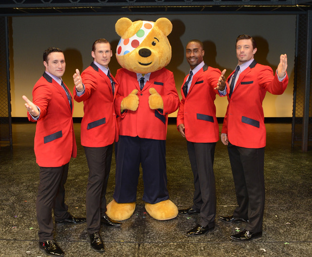 Blue perform Jersey Boys for Children in Need.