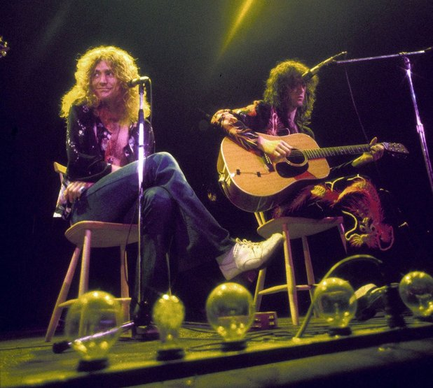 Led Zeppelin - 1981 (Robert Plant and Jimmy Page)