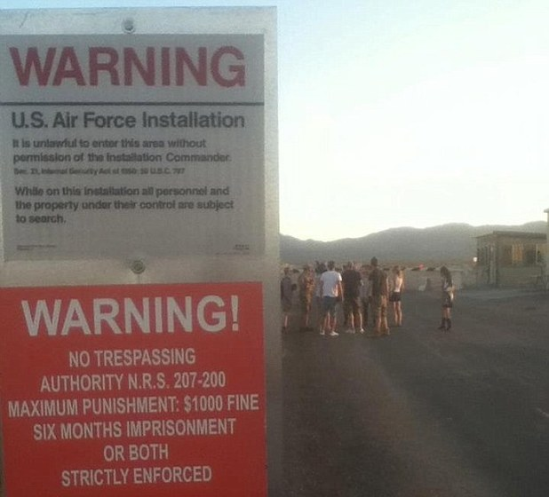 BBC film crew held at gunpoint after sneaking into Area 51