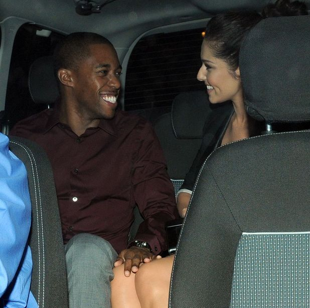 Cheryl Cole and Tre Holloway at Zuma restaurant, London, Britain - 08 Oct 2012