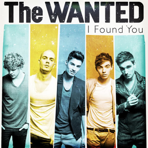 The Wanted 'I Found You' artwork