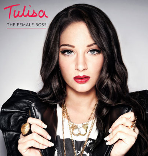 Tulisa - The Female Boss album cover