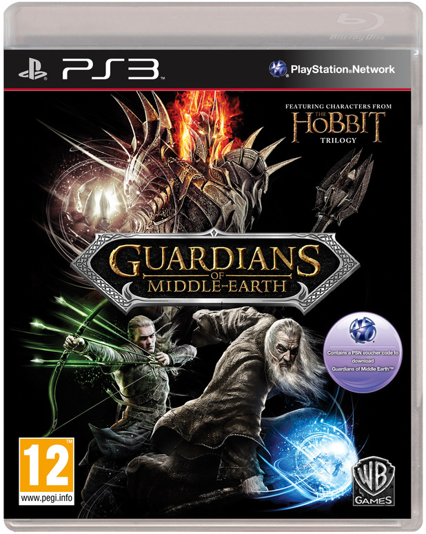 'Guardians of Middle Earth' PS3 pack shot