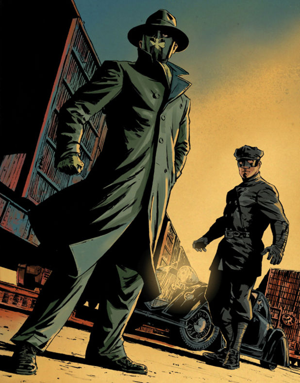 Green Hornet and Kato promo