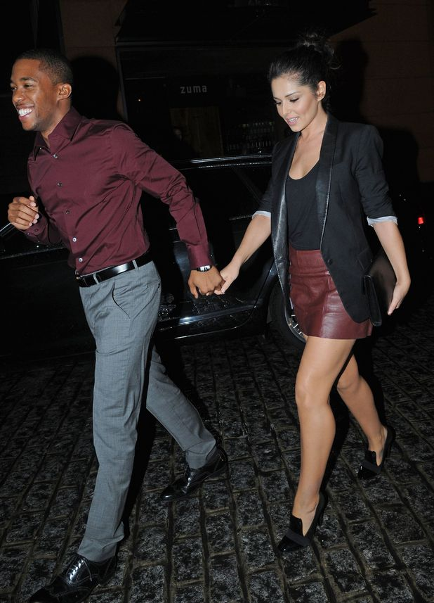 Tre Holloway and Cheryl Cole