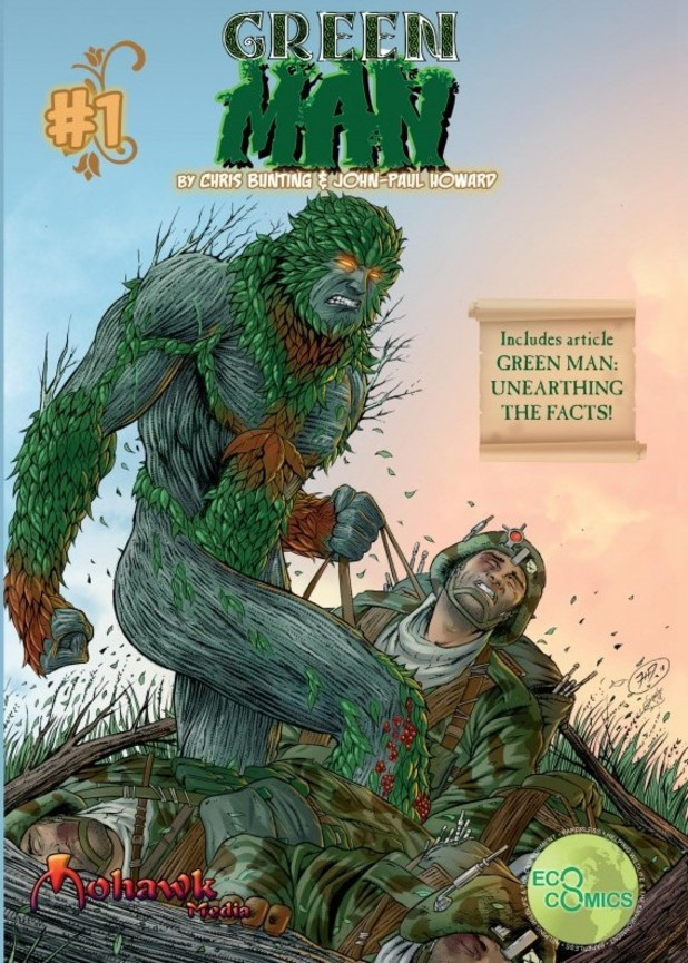 Green Man #1 cover