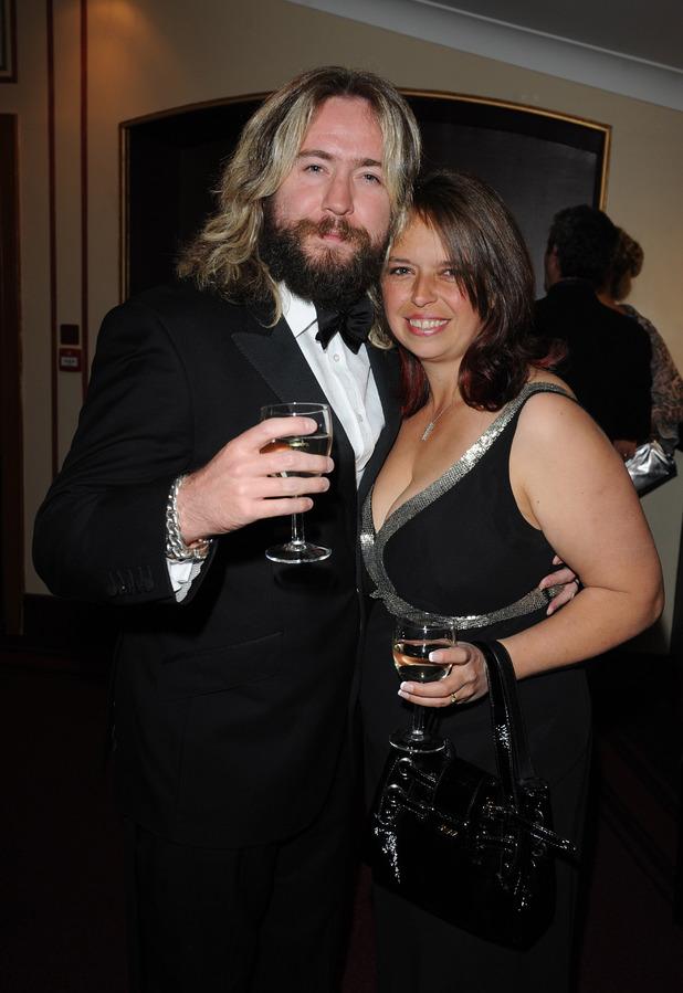 Justin Lee Collins and Karen Collins
