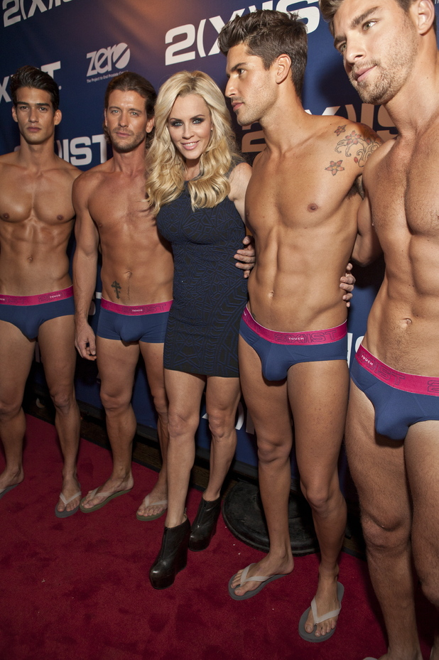 Jenny McCarthy & Ford Models 2(X)IST Spring 2013 Collection Fashion Show held at Arena night club New York City,