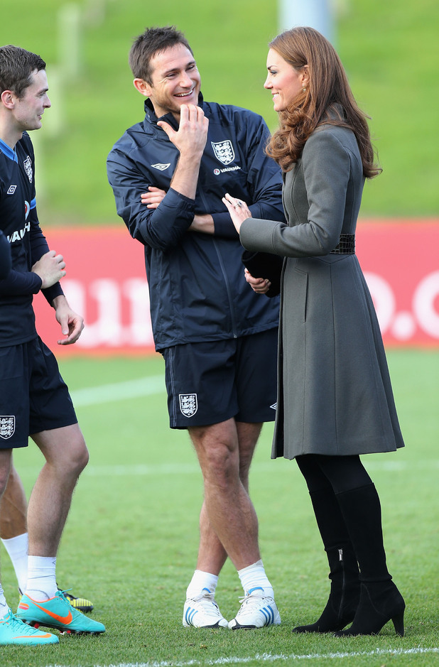 Duchess of Cambridge, England players, Steven Gerrard
