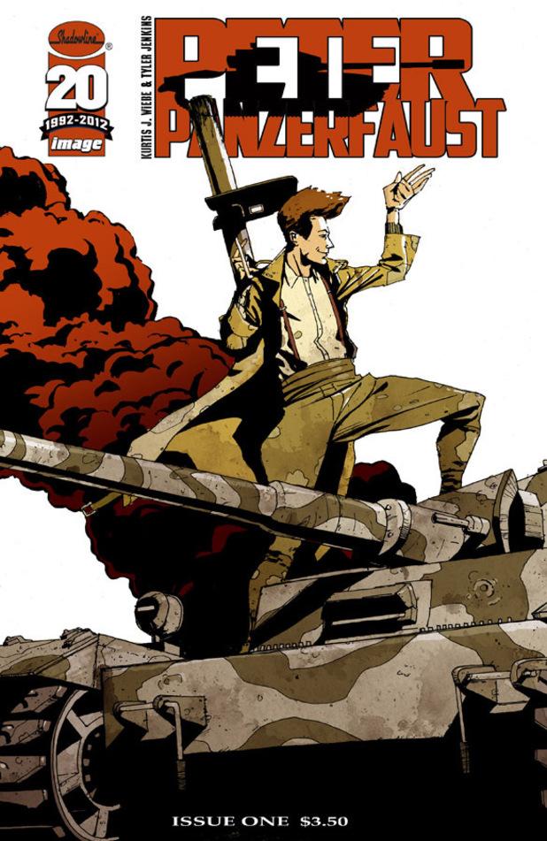 Image Comics' 'Peter Panzerfaust' cover