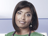 Sunetra Sarker as Zoe Hanna in Casualty