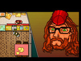 Screenshot from the 'Hotline Miami' game