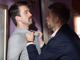 Eoghan confronts Brendan in Hollyoaks