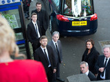 Lynsey's funeral day in Hollyoaks
