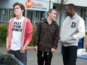 Jono is inspired to take on a new path in Hollyoaks next week.